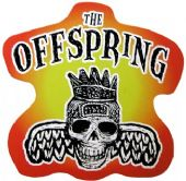 The Offspring - 'Skull' Shaped Sticker